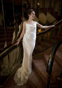 Kelly Short on her wedding day.