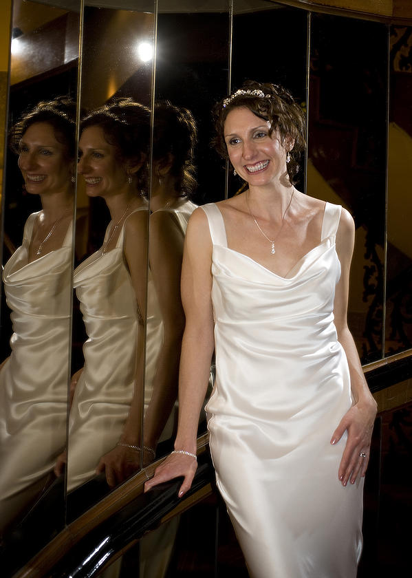 Kelly was able to wear a wedding dress she would never have dreamed of before she was Goked!