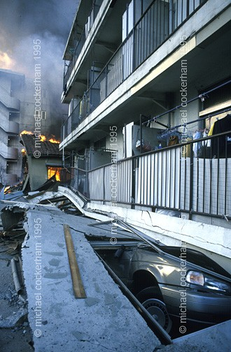 The high frequency earthquake was particularly devastating for low rise buildings.
