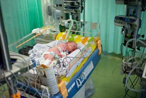 phineas in intensive care at the Evelina Children's hospital