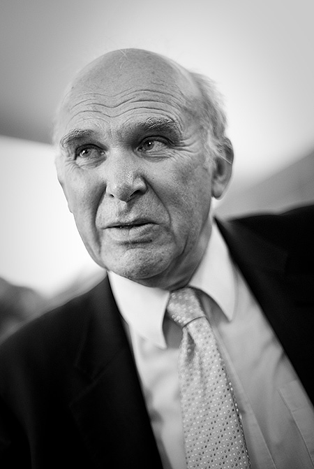 Business Secretary, and Deputy Leader of the Liberal Democrats, Vince Cable