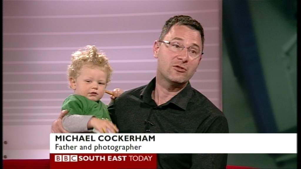 Me and Phineas on local BBC news