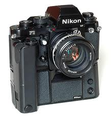 Nikon F3HP with MD4 motordrive