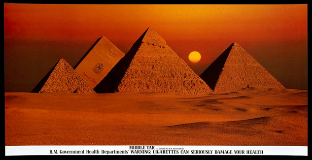 Benson and Hedges Pyramid Ad.
