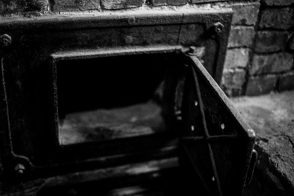 The ovens. Auschwitz. Photo: © Michael Cockerham 1993.