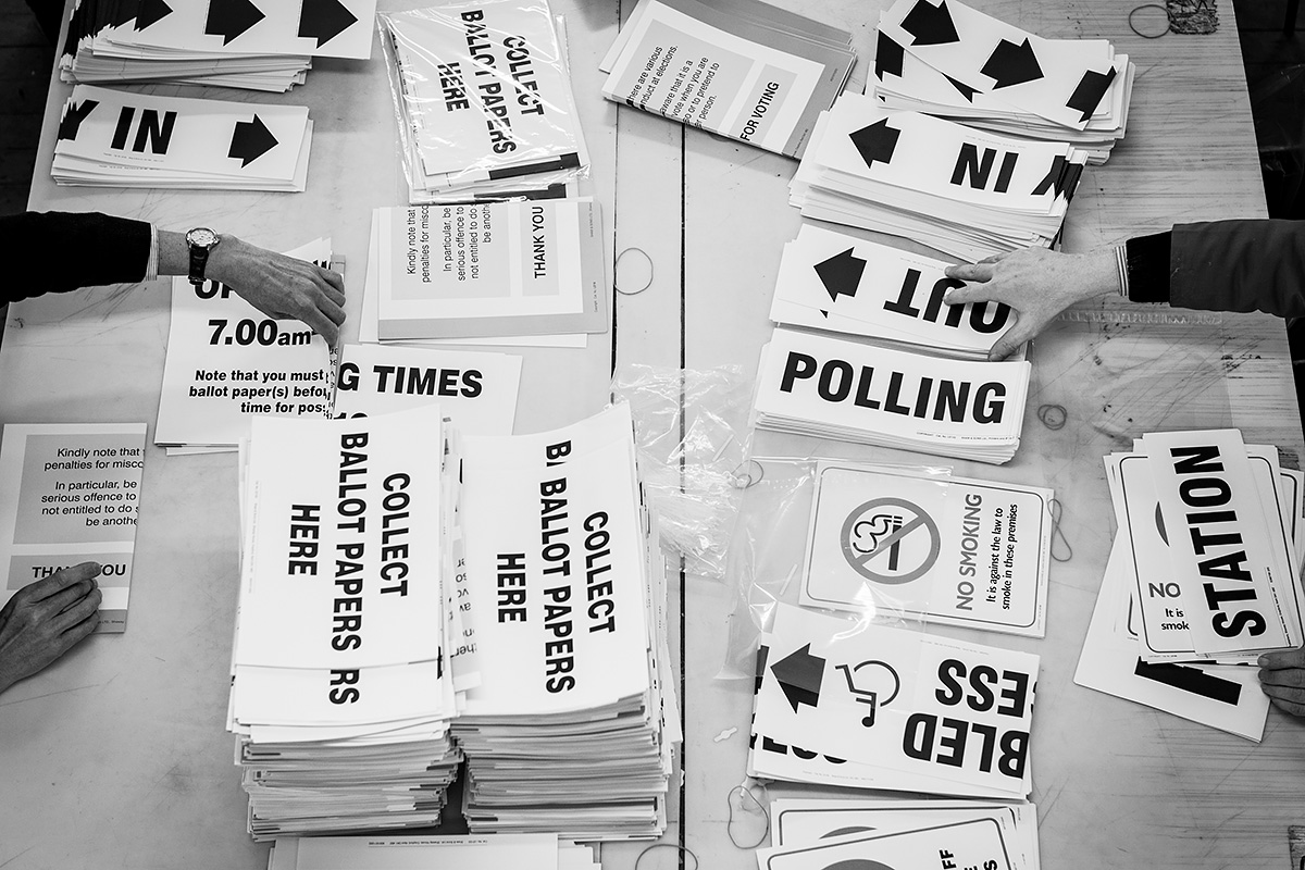 general election polling packs
